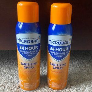 Microban Spray—NEW 2 pack